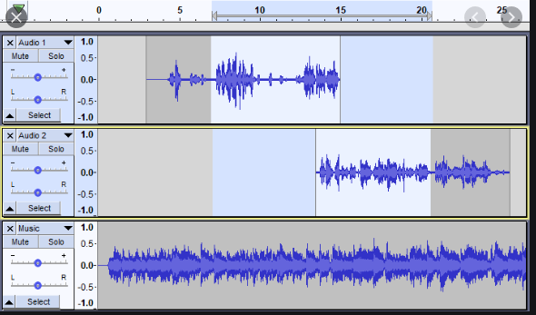 Create audio with Audacity