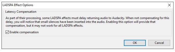 LADSPA Options