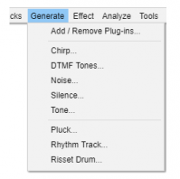 Effects, Generators, Analyzers and Tools