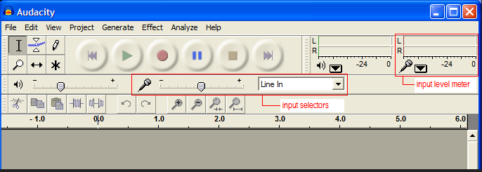 Higher speed transfers in Audacity