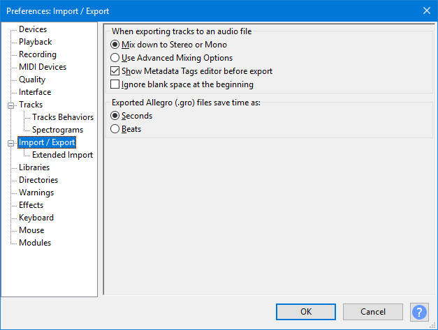 Import Filtering and Importer Order